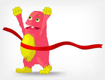 Funny Monster. Finish. Royalty Free Stock Images