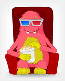 Funny Monster. Movie. Stock Image