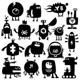 Funny monsters Stock Images