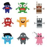 Funny monsters Royalty Free Stock Image