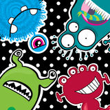 funny monsters Stock Image