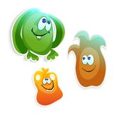 Funny monsters. Vector  cartoon illustration Royalty Free Stock Images