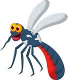 Funny mosquito cartoon Stock Photography