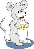 Funny mouse cartoon Stock Photography