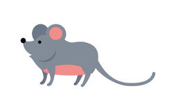 Funny Mouse Illustration Royalty Free Stock Photos