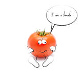 Funny Mr.Tomato Stock Images