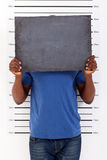 Funny mug shot Royalty Free Stock Image