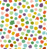 Funny multicolor abstract seamless background.  Stock Photo