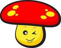 Funny mushroom Royalty Free Stock Photo