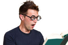 Funny nerd Stock Images
