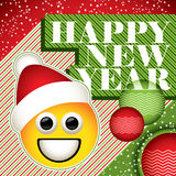 Funny New Year banner Royalty Free Stock Photography