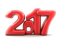 Funny new year 2017 Royalty Free Stock Image