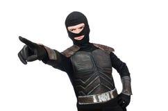 Funny ninja isolated Stock Photos