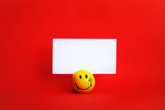 Funny notes holder Stock Images