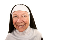 Funny Nun Royalty Free Stock Photos