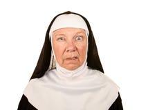 Funny Nun Stock Photography