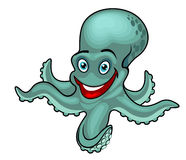 Funny octopus Stock Images