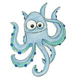 Funny octopus Royalty Free Stock Photo