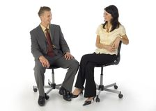 Funny office Royalty Free Stock Photography