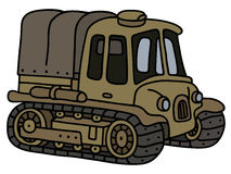 Funny old artillery tractor Stock Images