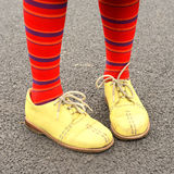 Funny old shoes Royalty Free Stock Photography