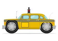 Funny ols taxi Stock Photo