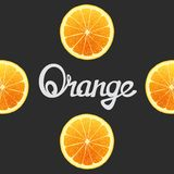 Funny of oranges Royalty Free Stock Image