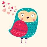 Funny owl Royalty Free Stock Photos