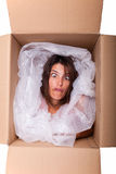 Funny package Stock Photos