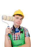 Funny painter Royalty Free Stock Photo