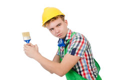 Funny painter Stock Photography