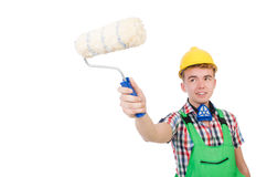 Funny painter Stock Photos