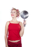 Funny with pan Royalty Free Stock Photography