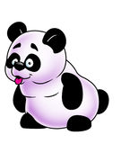 Funny panda Royalty Free Stock Images