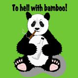 Funny panda Royalty Free Stock Photo
