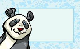 Funny panda Stock Image