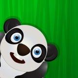 Funny panda avatar icon Stock Photo
