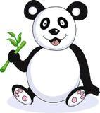 Funny panda cartoon. Illustration of funny panda cartoon Royalty Free Stock Photo