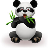 Funny panda eating panda Royalty Free Stock Photography