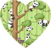 Funny panda Royalty Free Stock Photography