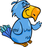 Funny parrot bird cartoon illustration. Cartoon Illustration of Funny Parrot Bird Character