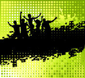 Funny party background with place for your text Stock Images