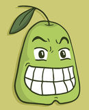 Funny pear Royalty Free Stock Images