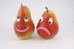Funny pears Royalty Free Stock Photography