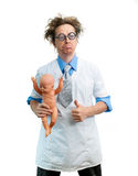 Funny pediatrician Royalty Free Stock Photos