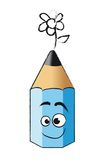 Funny pencil Stock Photo
