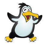 Funny penguin Stock Images