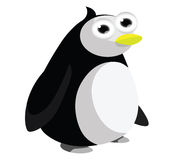 Funny penguin cartoon Stock Photography