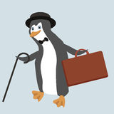 Funny penguin character Royalty Free Stock Photo