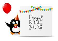 Funny penguin Stock Image